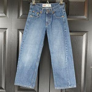 Levi's Boys 550 Relaxed 8 REG Dark Wash Jeans
